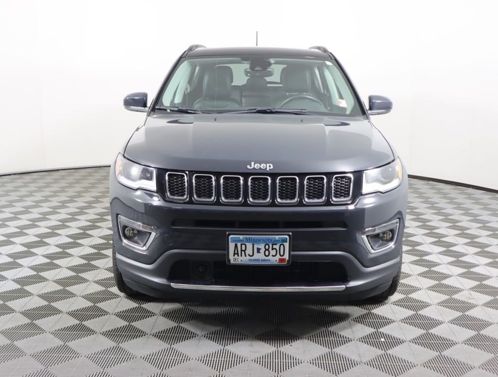 Used 2018 Jeep Compass Limited with VIN 3C4NJDCB8JT264773 for sale in Faribault, Minnesota